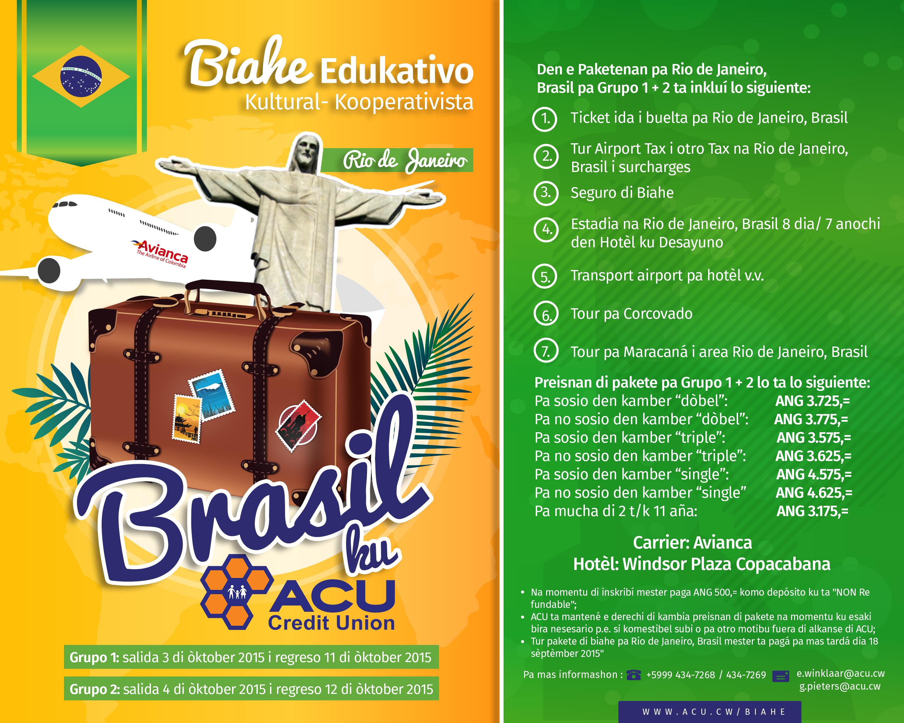 Biahe pa Brazil